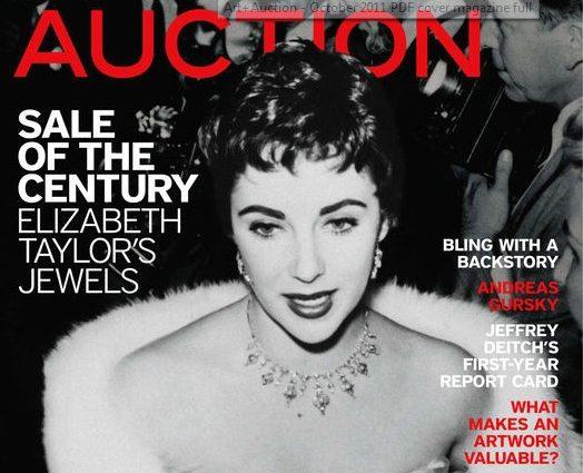 Elizabeth Taylor Estate Jewelry Up For Auction? Envy!
