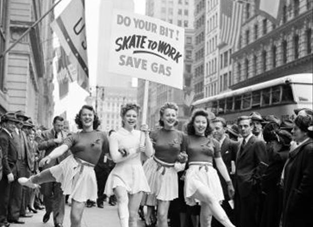 Photos: Skate to Work! (1940s)