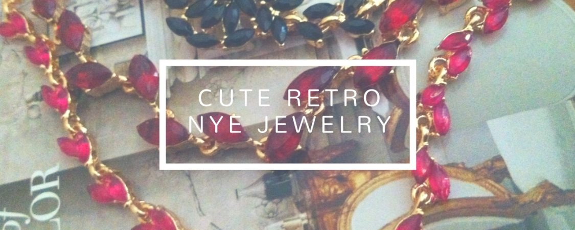 New Year's Sparkle: Picking out my retro jewelry for 'Auld Lang Syne'