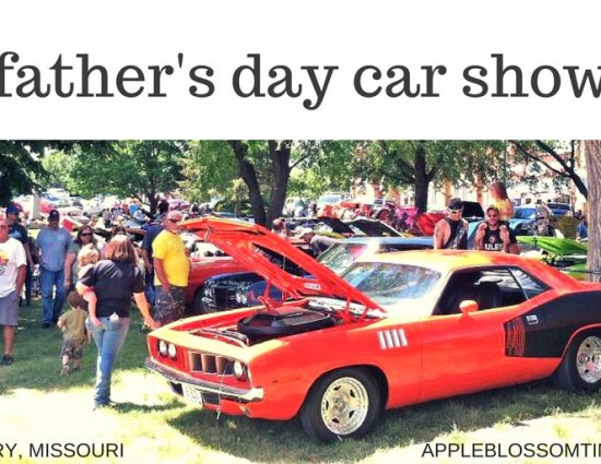Vintage Cars at the Stanberry, Missouri Father's Day Car Show