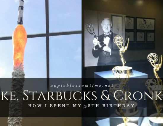 Cake, Starbucks and Cronkite: My 38th Birthday