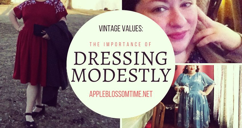 Vintage Values: Why Modesty is Important